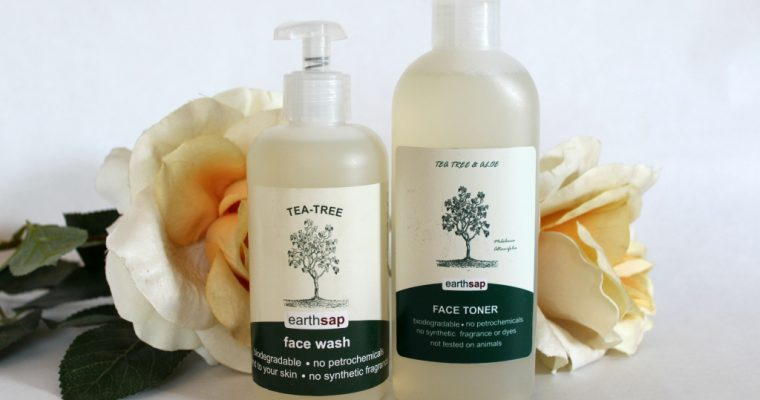 [BEAUTY]: Earth Sap Face Wash & Toner