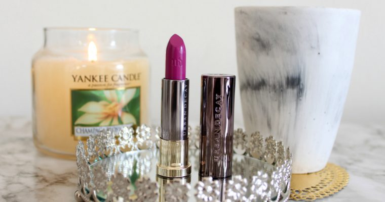 [BEAUTY]: Urban Decay Crank Lipstick