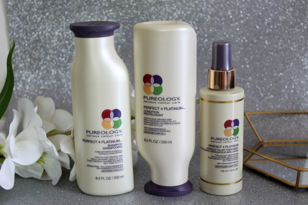 [BEAUTY]: Pureology Perfect 4 Platinum Hair Care