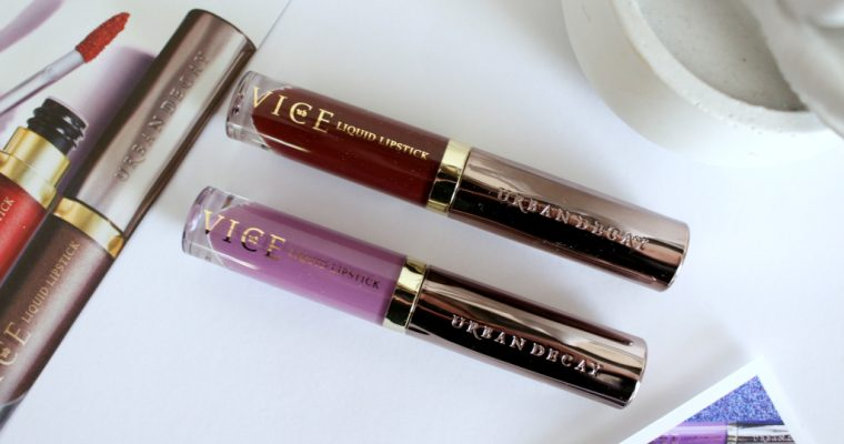 [BEAUTY]: Urban Decay Vice Liquid Lipstick
