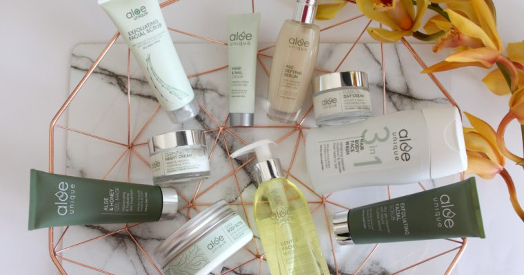 [BEAUTY]: Aloe Unique Range & Giveaway