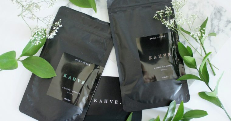 [BEAUTY]: KAHVE Body Scrubs