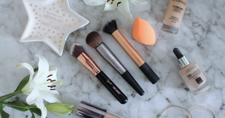 [BEAUTY]: My Top 4 Foundation Tools