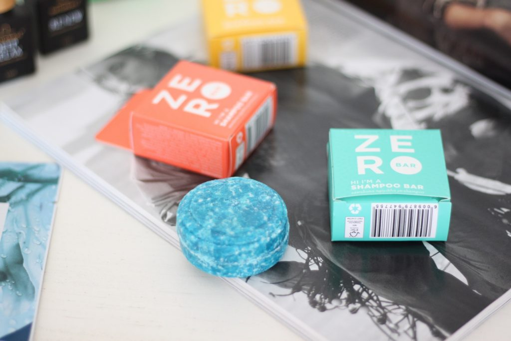 Zero Bar Shampoo Bars which are water-free; plastic-free and cruelty free. Locally made in South Africa.