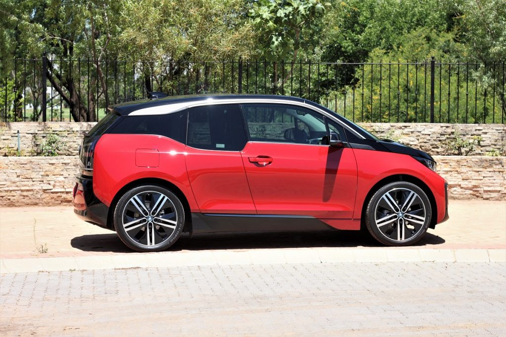 The BMW i3 as featured by Cassidy from The Glam Green Girl