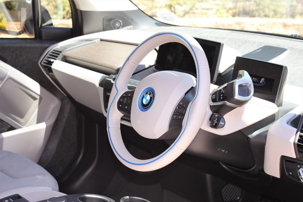 Interior of the i3