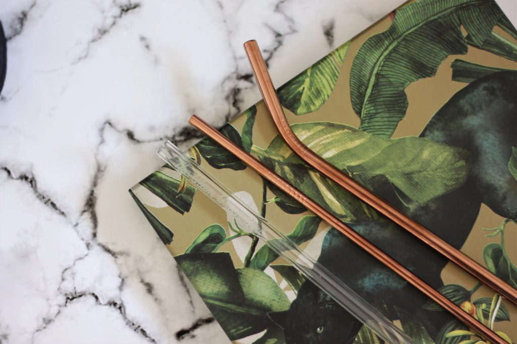 Glass and metal straws to help create less waste in 2020