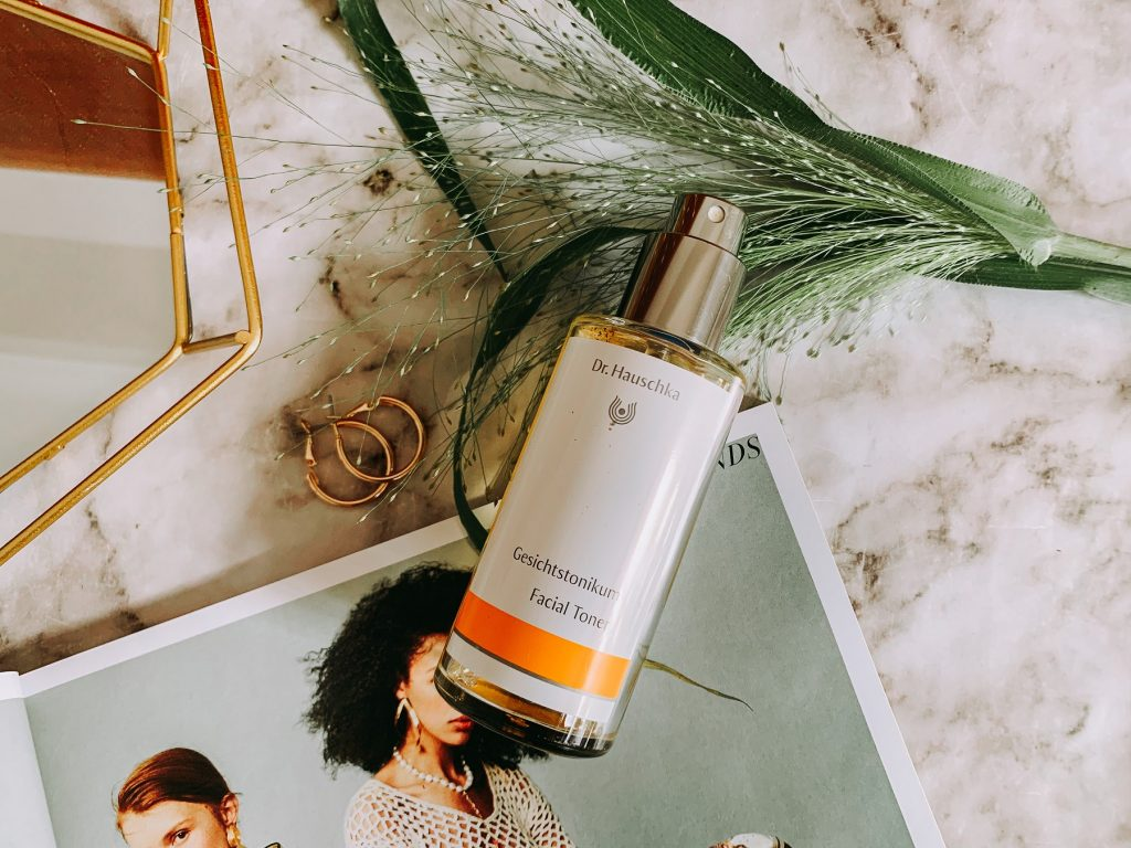 Dr Hauschka Facial Toner that is part of my skincare routine