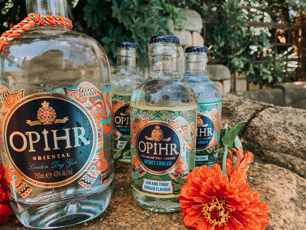 Opihr Gin and Ready To Drink Stubbies