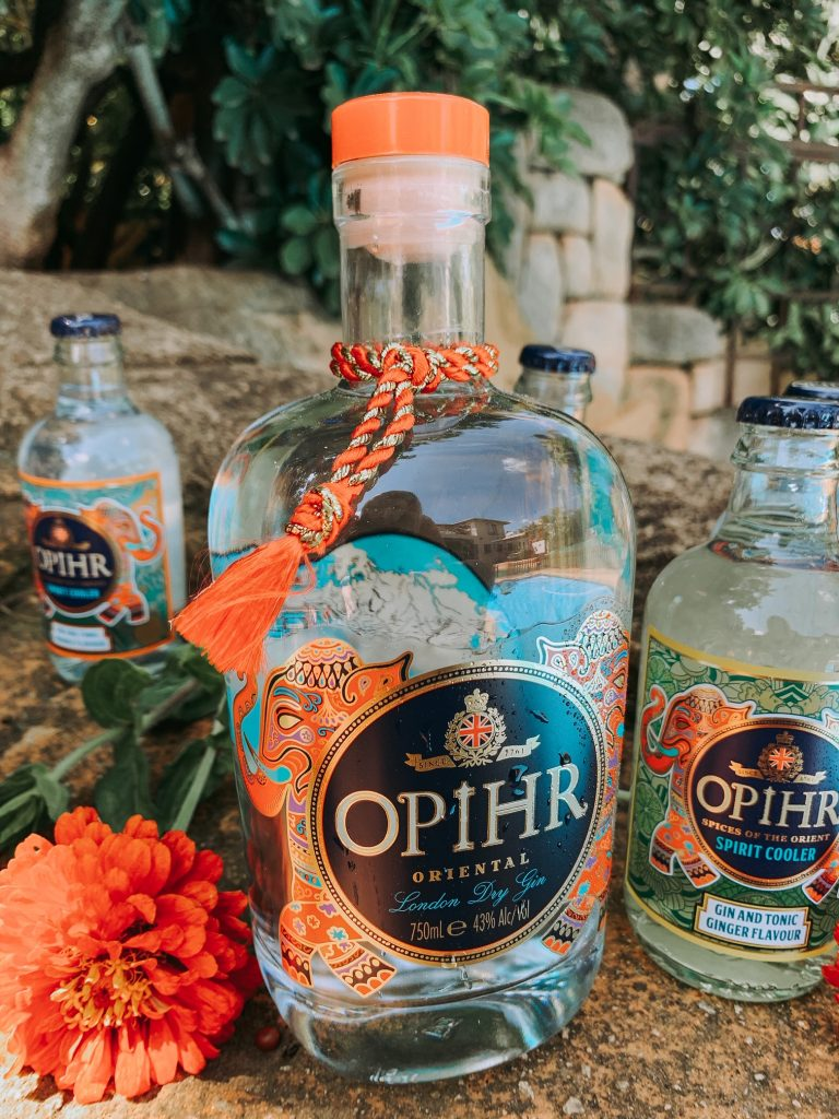 Opihr Gin and stubbies