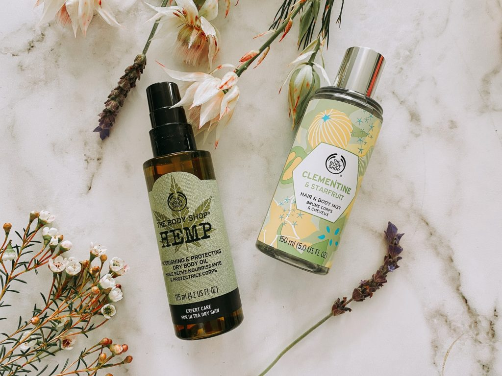The Body Shop Self-care products
